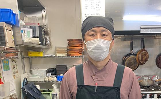 プロジェクターロゴ(ゴボ)ライトの販売実績。鳥取県米子市 焼肉ホルモンだんだん 張様からの喜びの声を紹介